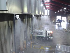 Odour control waste management